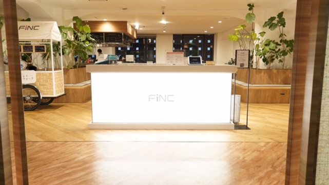 FiNC Fit(フィンクフィット)の受付