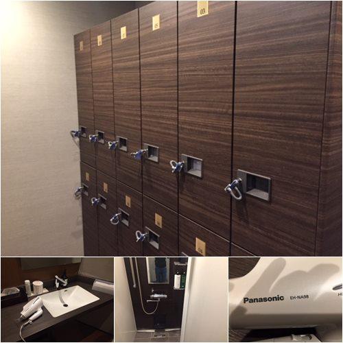 Y4Gymのロッカールーム&シャワールーム