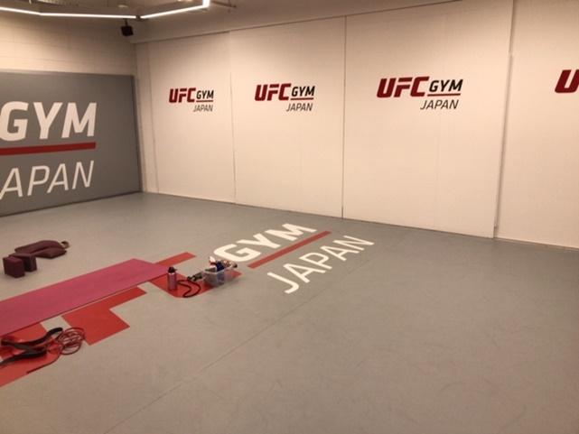 ufcジムのスタジオスペース