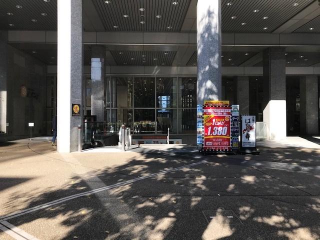 東急スポーツオアシス新宿の入り口